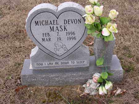 MASK, MICHAEL DEVON - Cross County, Arkansas | MICHAEL DEVON MASK - Arkansas Gravestone Photos