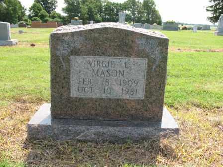 MASON, VIRGIE L - Cross County, Arkansas | VIRGIE L MASON - Arkansas Gravestone Photos