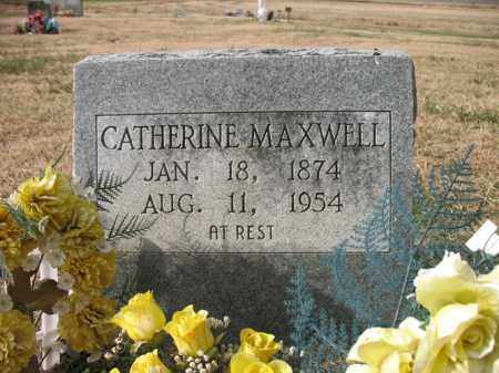 MAXWELL, CATHERINE - Cross County, Arkansas | CATHERINE MAXWELL - Arkansas Gravestone Photos