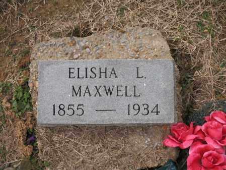 MAXWELL, ELISHA L - Cross County, Arkansas | ELISHA L MAXWELL - Arkansas Gravestone Photos