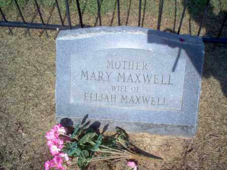 MAXWELL, MARY - Cross County, Arkansas | MARY MAXWELL - Arkansas Gravestone Photos