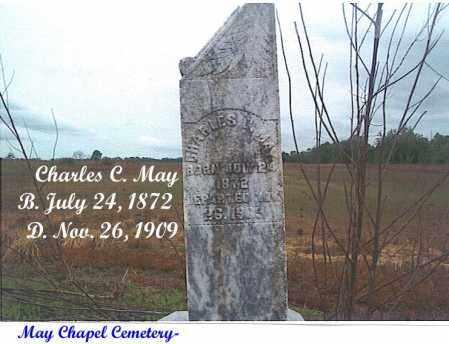 MAY, CHARLES C. - Cross County, Arkansas | CHARLES C. MAY - Arkansas Gravestone Photos