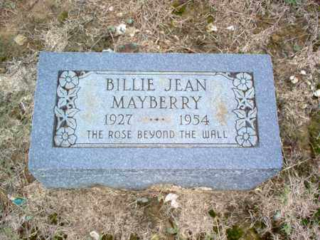 MAYBERRY, BILLIE JEAN - Cross County, Arkansas | BILLIE JEAN MAYBERRY - Arkansas Gravestone Photos