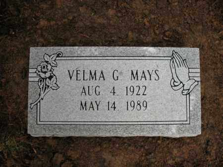 MAYS, VELMA GERTRUDE - Cross County, Arkansas | VELMA GERTRUDE MAYS - Arkansas Gravestone Photos