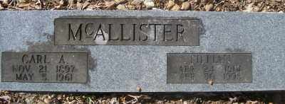 MCALLISTER, CARL A. - Cross County, Arkansas | CARL A. MCALLISTER - Arkansas Gravestone Photos
