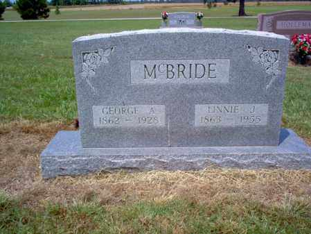 MCBRIDE, GEORGE A - Cross County, Arkansas | GEORGE A MCBRIDE - Arkansas Gravestone Photos