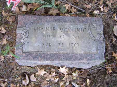 MCCLINIC, MINNIE - Cross County, Arkansas | MINNIE MCCLINIC - Arkansas Gravestone Photos