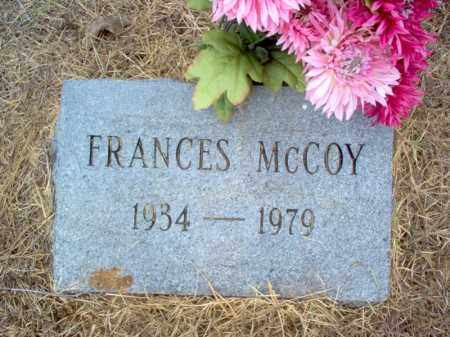 MCCOY, FRANCES - Cross County, Arkansas | FRANCES MCCOY - Arkansas Gravestone Photos
