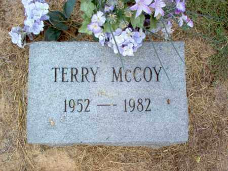 MCCOY, TERRY - Cross County, Arkansas | TERRY MCCOY - Arkansas Gravestone Photos