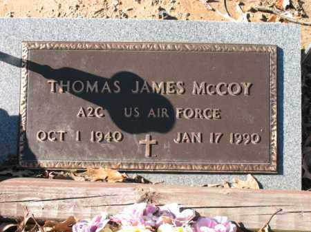 MCCOY (VETERAN), THOMAS JAMES - Cross County, Arkansas | THOMAS JAMES MCCOY (VETERAN) - Arkansas Gravestone Photos