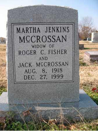 MCCROSSAN, MARTHA - Cross County, Arkansas | MARTHA MCCROSSAN - Arkansas Gravestone Photos