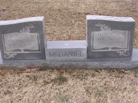 MCDANIEL, FLORENCE M - Cross County, Arkansas | FLORENCE M MCDANIEL - Arkansas Gravestone Photos