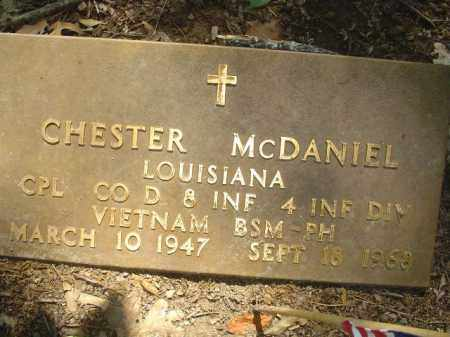 MCDANIEL (VETERAN VIET, KIA), CHESTER - Cross County, Arkansas | CHESTER MCDANIEL (VETERAN VIET, KIA) - Arkansas Gravestone Photos