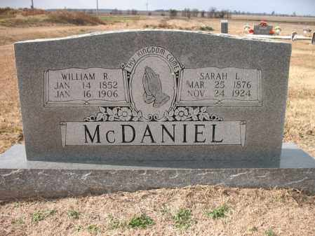 MCDANIEL, WILLIAM RAGEN - Cross County, Arkansas | WILLIAM RAGEN MCDANIEL - Arkansas Gravestone Photos