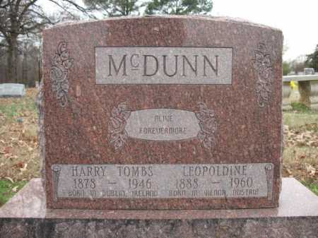 MCDUNN, LEOPOLDINE - Cross County, Arkansas | LEOPOLDINE MCDUNN - Arkansas Gravestone Photos