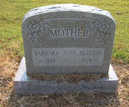 MCELROY, BARBARA JEAN - Cross County, Arkansas | BARBARA JEAN MCELROY - Arkansas Gravestone Photos