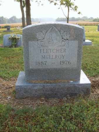 MCELROY, FLETCHER - Cross County, Arkansas | FLETCHER MCELROY - Arkansas Gravestone Photos