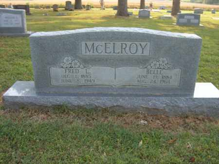 MCELROY, BELLE - Cross County, Arkansas | BELLE MCELROY - Arkansas Gravestone Photos
