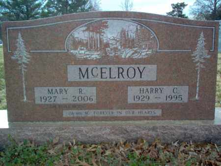 MCELROY, HARRY CHADWICK - Cross County, Arkansas | HARRY CHADWICK MCELROY - Arkansas Gravestone Photos