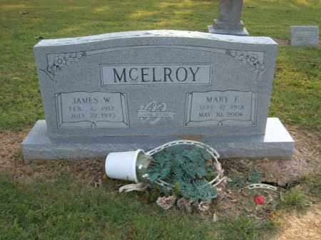 MCELROY, JAMES W - Cross County, Arkansas | JAMES W MCELROY - Arkansas Gravestone Photos