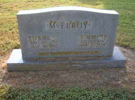 MCELROY, JOHN - Cross County, Arkansas | JOHN MCELROY - Arkansas Gravestone Photos