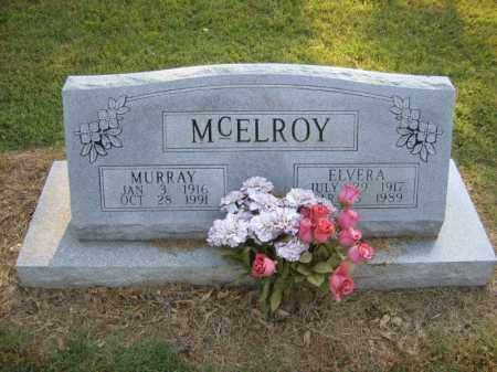 MCELROY, ELVERA - Cross County, Arkansas | ELVERA MCELROY - Arkansas Gravestone Photos