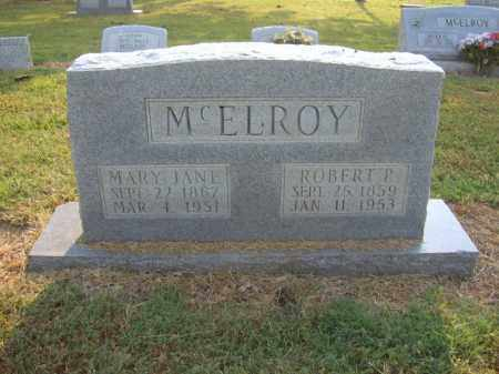 MCELROY, ROBERT P - Cross County, Arkansas | ROBERT P MCELROY - Arkansas Gravestone Photos