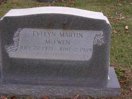 MARTIN MCEWEN, EVELYN LORENA - Cross County, Arkansas | EVELYN LORENA MARTIN MCEWEN - Arkansas Gravestone Photos