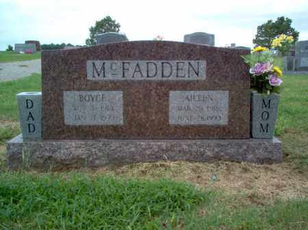 MCFADDEN, BOYCE - Cross County, Arkansas | BOYCE MCFADDEN - Arkansas Gravestone Photos