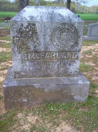 MCFARLAND, JOHN H - Cross County, Arkansas | JOHN H MCFARLAND - Arkansas Gravestone Photos
