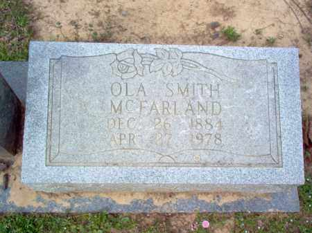 MCFARLAND, OLA - Cross County, Arkansas | OLA MCFARLAND - Arkansas Gravestone Photos