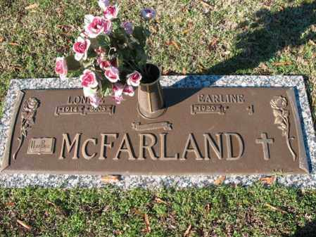 MCFARLAND, REV, LONNIE - Cross County, Arkansas | LONNIE MCFARLAND, REV - Arkansas Gravestone Photos