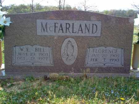 "MCFARLAND, W E ""BILL"" - Cross County, Arkansas | W E ""BILL"" MCFARLAND - Arkansas Gravestone Photos"