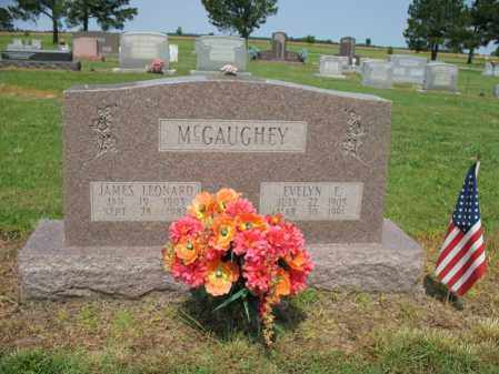 MCGAUGHEY, JAMES LEONARD - Cross County, Arkansas | JAMES LEONARD MCGAUGHEY - Arkansas Gravestone Photos