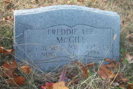 MCGILL, FREDDIE LEE - Cross County, Arkansas | FREDDIE LEE MCGILL - Arkansas Gravestone Photos