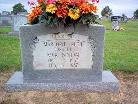 DONAHUE MCKENNON, MARJORIE RUTH - Cross County, Arkansas | MARJORIE RUTH DONAHUE MCKENNON - Arkansas Gravestone Photos