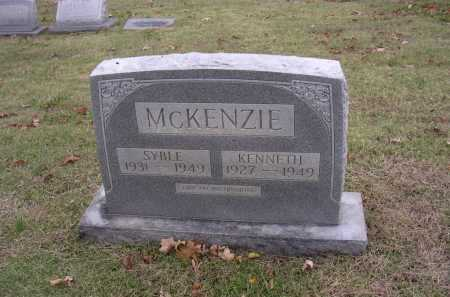 MCKENZIE, SYBLE - Cross County, Arkansas | SYBLE MCKENZIE - Arkansas Gravestone Photos