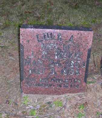 MCKIE, LULA A - Cross County, Arkansas | LULA A MCKIE - Arkansas Gravestone Photos