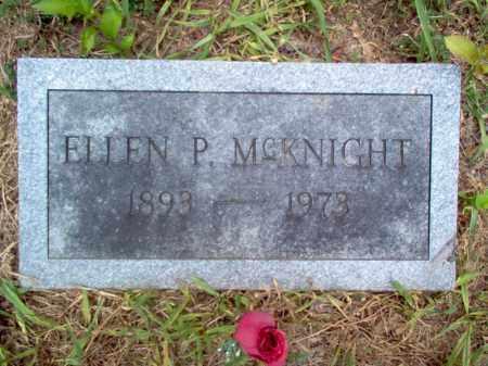 MCKNIGHT, ELLEN P - Cross County, Arkansas | ELLEN P MCKNIGHT - Arkansas Gravestone Photos