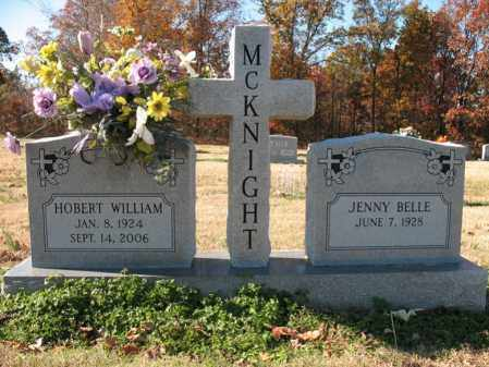 MCKNIGHT, HOBERT WILLIAM - Cross County, Arkansas | HOBERT WILLIAM MCKNIGHT - Arkansas Gravestone Photos