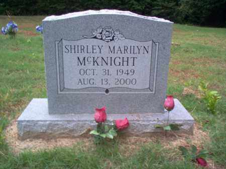 MCKNIGHT, SHIRLEY MARILYN - Cross County, Arkansas | SHIRLEY MARILYN MCKNIGHT - Arkansas Gravestone Photos