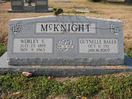 MCKNIGHT, WORLEY V - Cross County, Arkansas | WORLEY V MCKNIGHT - Arkansas Gravestone Photos