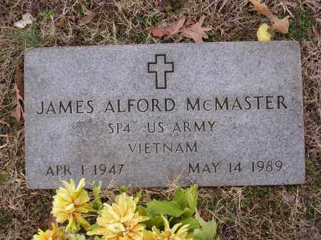 MCMASTER  (VETERAN VIET), JAMES ALFORD - Cross County, Arkansas | JAMES ALFORD MCMASTER  (VETERAN VIET) - Arkansas Gravestone Photos