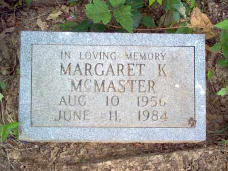 MCMASTER, MARGARET K - Cross County, Arkansas | MARGARET K MCMASTER - Arkansas Gravestone Photos