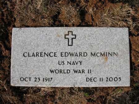 MCMINN (VETERAN WWII), CLARENCE EDWARD - Cross County, Arkansas | CLARENCE EDWARD MCMINN (VETERAN WWII) - Arkansas Gravestone Photos