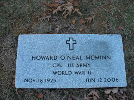 MCMINN (VETERAN WWII), HOWARD O'NEAL - Cross County, Arkansas | HOWARD O'NEAL MCMINN (VETERAN WWII) - Arkansas Gravestone Photos