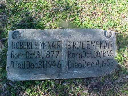 MCNAIR, BIRDIE F - Cross County, Arkansas | BIRDIE F MCNAIR - Arkansas Gravestone Photos