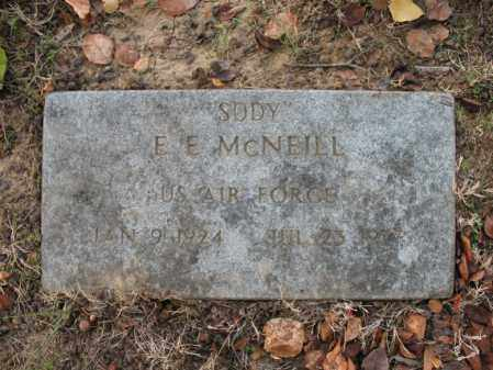 "MCNEILL (VETERAN), E E ""SODY"" - Cross County, Arkansas 