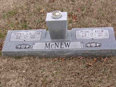 "MCNEW, TOMMIE A ""BUSTER"" - Cross County, Arkansas 