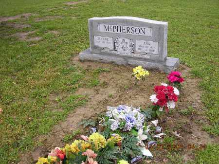 MCPHERSON, ANN - Cross County, Arkansas | ANN MCPHERSON - Arkansas Gravestone Photos